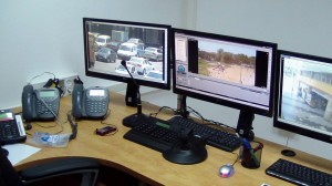 Safe city project - Control room
